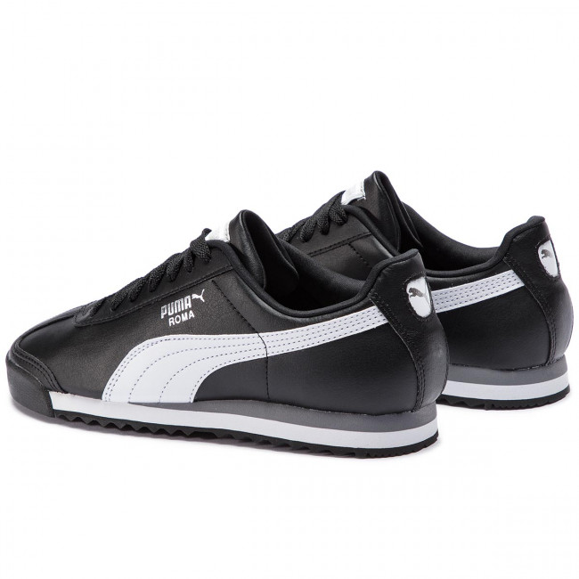 Sneakers PUMA Roma Basic 353572 11 BlackWhitePuma Silver