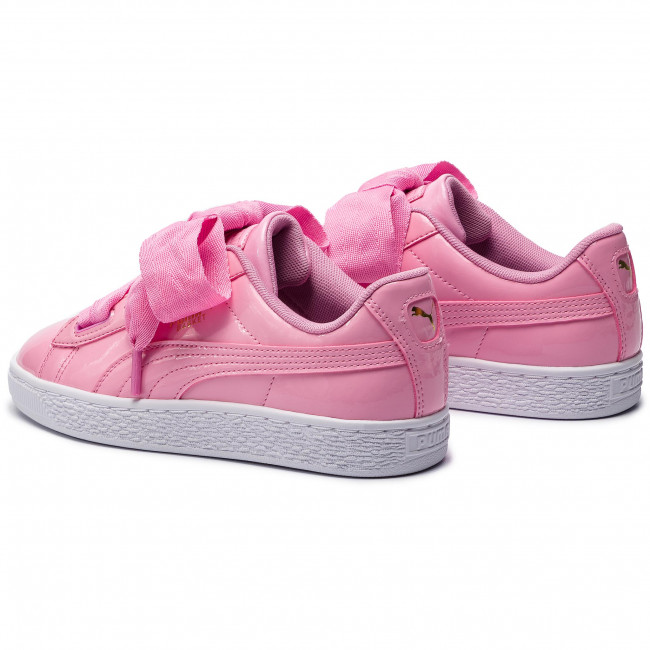 9777e89571 Sneakers PUMA - Basket Heart Patent Jr 364817 03 Prism Pink/Pcoat/Gold/White