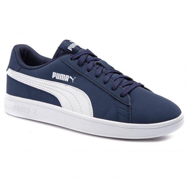 innovativ design kvalitetsprodukter ny stil Sneakers PUMA - Smash V2 Buck 365160 09 Peacoat/Puma White ...