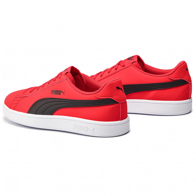 Sneakers PUMA Smash V2 Buck 365160 13 High Risk RedBlackWhite