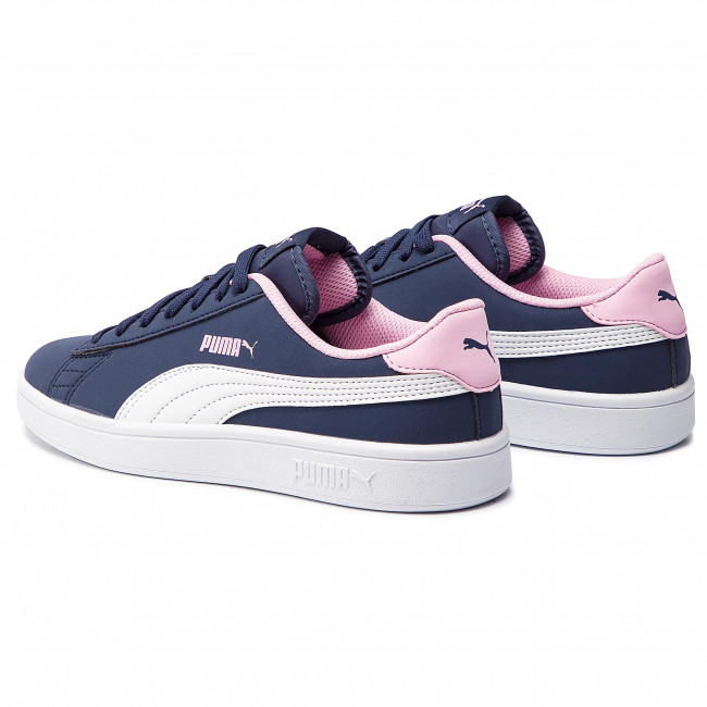 Sneakers PUMA Smash V2 Buck Jr 365182 09 PeacoatPuma WhitePale Pink