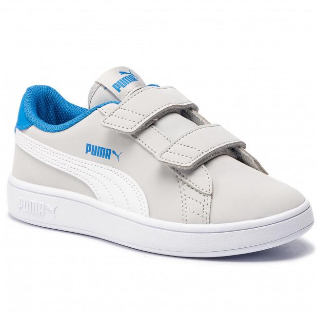 6abb426b8aa99 Sneakers PUMA - Smash V2 Buck V Ps 365183 08 Gray Violet/Puma White
