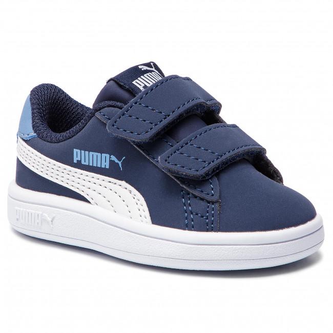 Sneakers PUMA Smash V2 Buck V Inf 365184 02 PeacoatPuma White