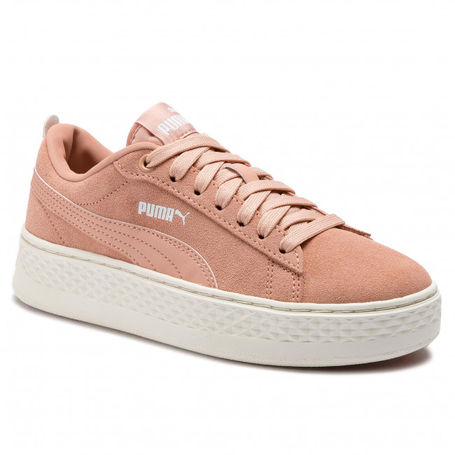 puma sneaker platform weiß rose