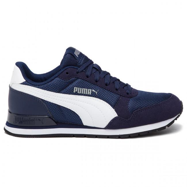 Sneakers PUMA - St Runner V2 Mesh Jr 367135 01 Peacoat/Puma White