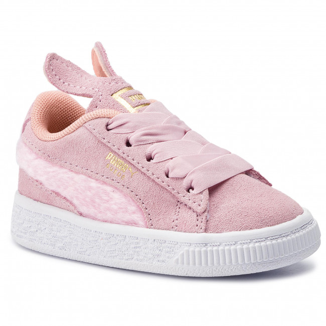 choque Simplemente desbordando difícil  Sneakers PUMA - Suede Easter Ac Inf 368946 02 Pale Pink/Coral Cloud - Laced  shoes - Low shoes - Girl - Kids' shoes | efootwear.eu
