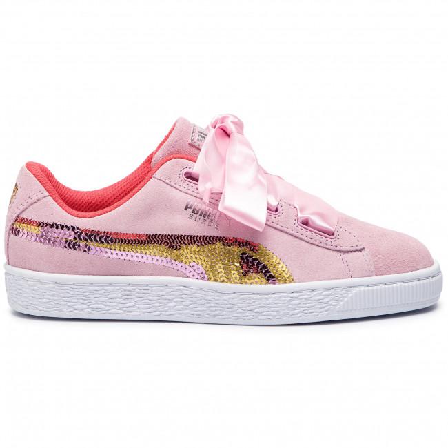 Sneakers PUMA Suede Hrt Trailblazer Sqn Jr 368953 01 Pale PinkHibiscus