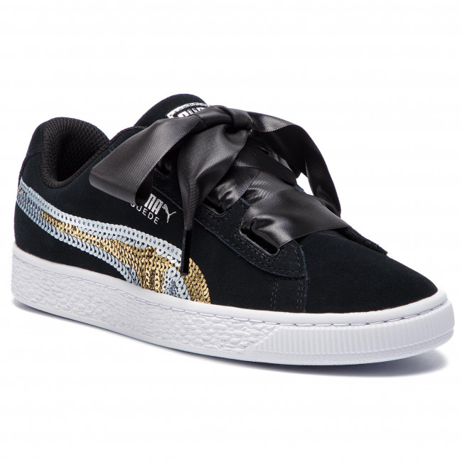 Sneakers PUMA Suede Hrt Trailblazer Sqn Jr 368953 02 Puma BlackPuma Team Gold