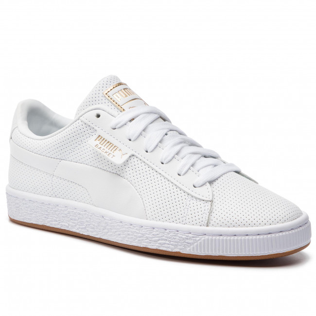 Sneakers PUMA Basket Classic Gum Jr 368962 02 WhiteGum