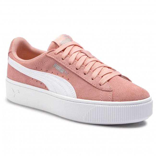 colateral realidad Extraordinario  Sneakers PUMA - Vikky Stacked Sd 369144 07 Peach Bud/Puma White - Sneakers  - Low shoes - Women's shoes | efootwear.eu