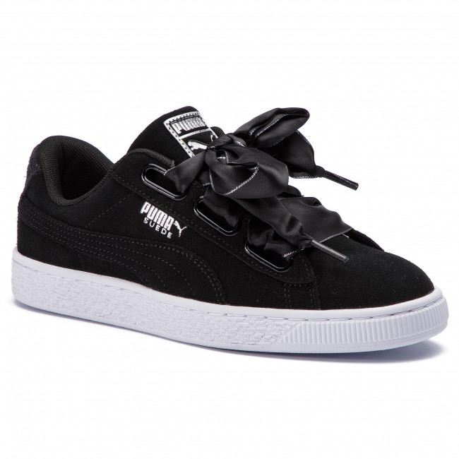 best authentic ffce1 bd2b6 Sneakers PUMA - Suede Heart Galaxy 369232 03 Puma Black/Puma Silver