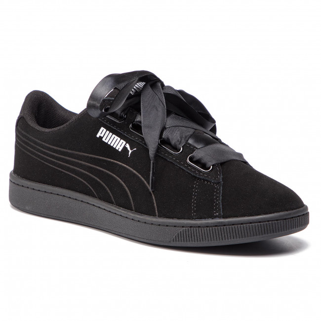 Sneakers PUMA Vikky V2 Ribbon S 369726 01 Puma BlackPuma BlackSilver