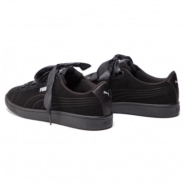 Sneakers PUMA Vikky V2 Ribbon S 369726 01 Puma BlackPuma BlackSilver