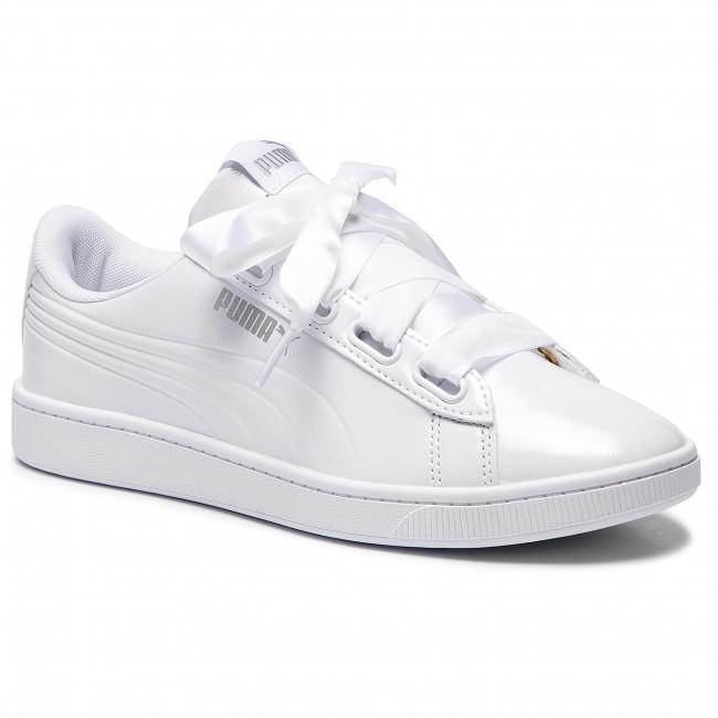 994bf3de Sneakers PUMA - Vikky v2 Ribbon P 369727 02 Puma White/Puma Silver