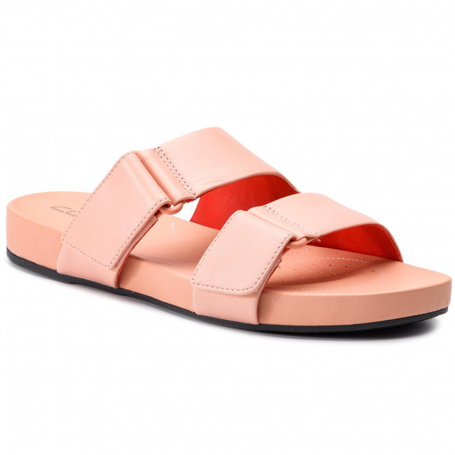 Slides CLARKS Bright Deja 261400934 Light Pink