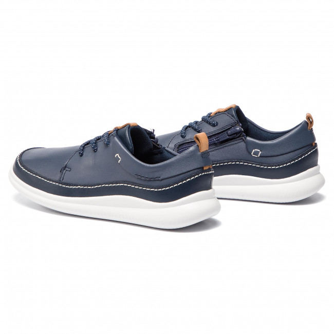 Shoes CLARKS Cloud Blaze K 261405086 Navy Leather