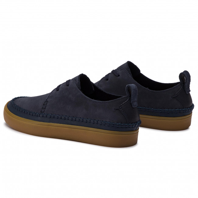Shoes CLARKS Kessell Craft 261410217 Navy Leather