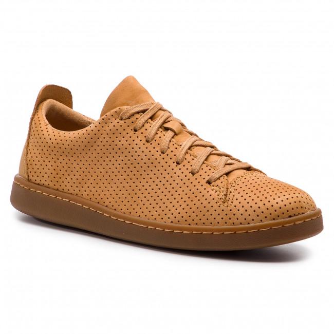 Sneakers CLARKS Nathan Limit 261416187 Light Tan Nubuck