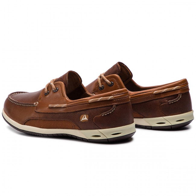 Moccasins CLARKS Orson Harbour 203575817 Brown Leather