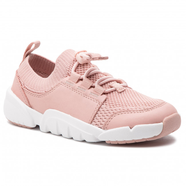 973e3e8d Sneakers CLARKS - Tri Swift K 261412236 Pink Combi - Laced shoes ...
