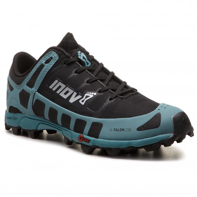 Inov8 Womens X-Talon 230 Trail Running Shoes Trainers Sneakers Black Blue Sports