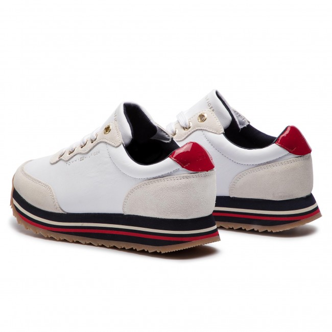 Sneakers TOMMY HILFIGER Tommy Retro Runner FW0FW03690 White 100