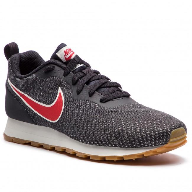 Shoes NIKE Md Runner 2 Eng Mesh 916774 009 Oil GreyUniversity Red