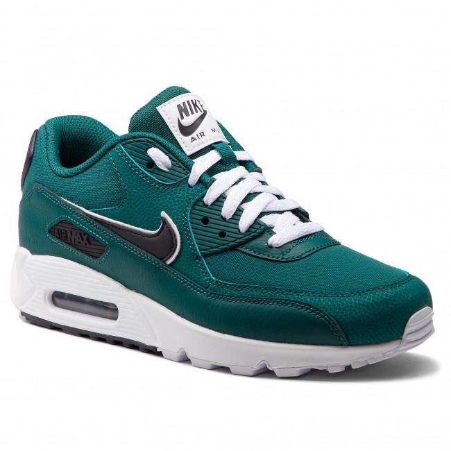 check out bd0c8 43617 Shoes NIKE - Air Max 90 Essential AJ1285 301 Rainforest/Oil Grey/White