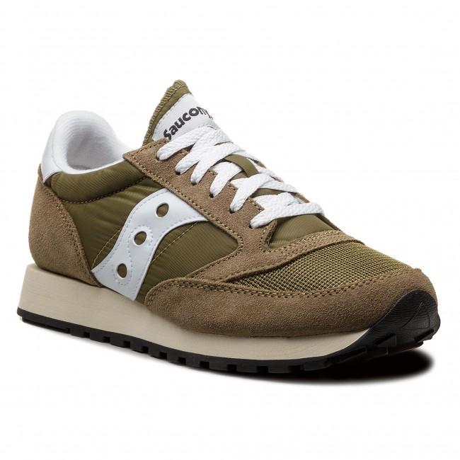 newest aa751 52c52 Sneakers SAUCONY - Jazz Original Vintage S70368-13 Oli/Wht