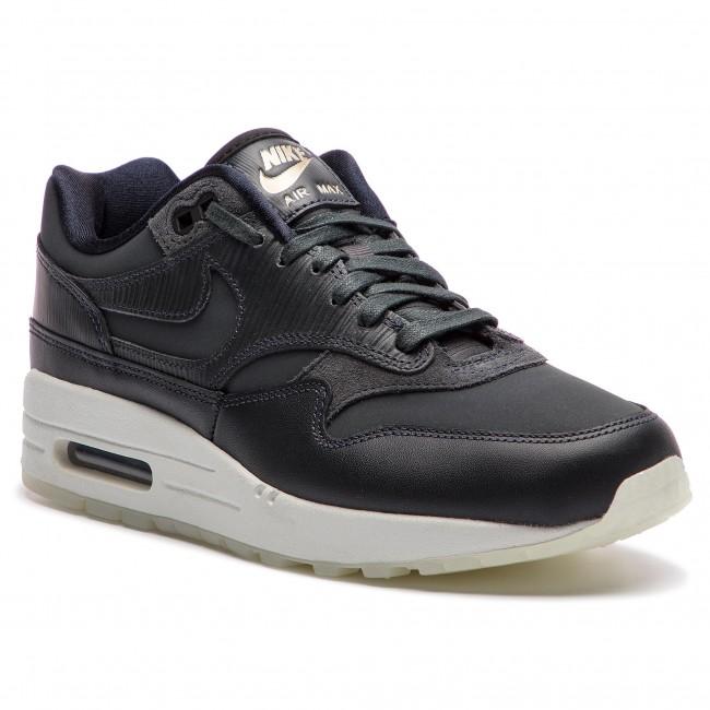 Shoes NIKE Air Max 1 Prm 454746 016 AnthraciteAnthraciteBlack