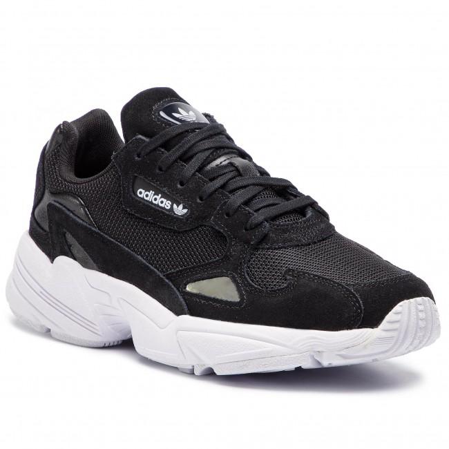 nuevo diseño novísimo selección zapatos genuinos Shoes adidas - Falcon W B28129 Cblack/Cblack/Ftwwht - Sneakers ...