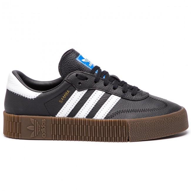 Shoes adidas Sambarose W B28156 CblackFtwwhtGum5