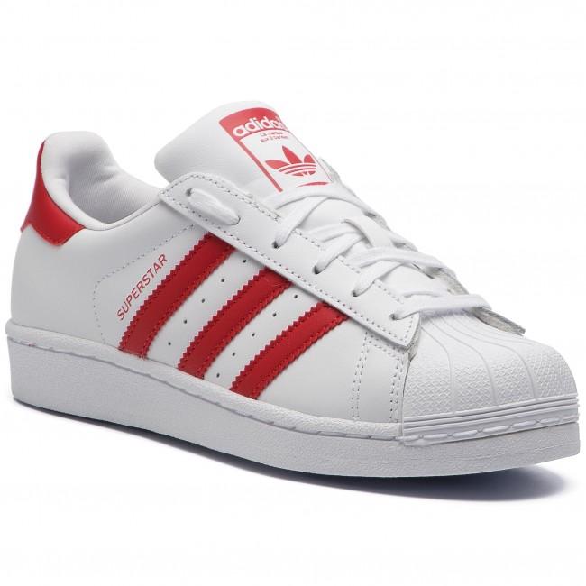 f523028edcb Shoes adidas - Superstar J CG6609 Ftwwht/Scarle/Scarle