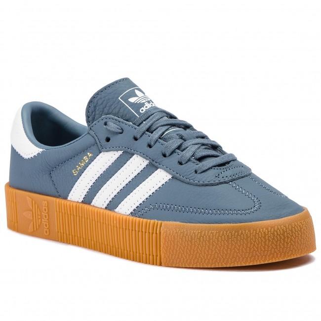 adidas sambarose blauw