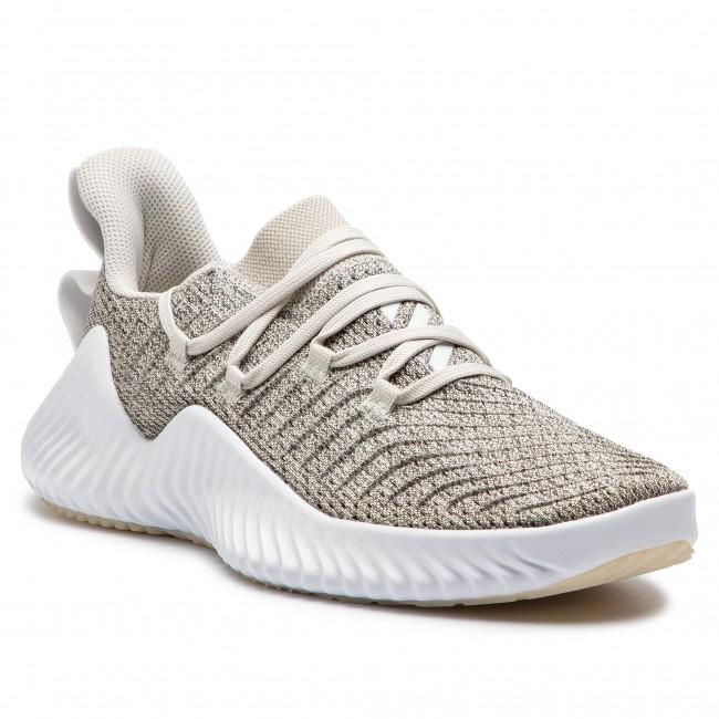Shoes adidas - Alphabounce Trainer BB7242 Rawwht/Ftwwht/Grethr
