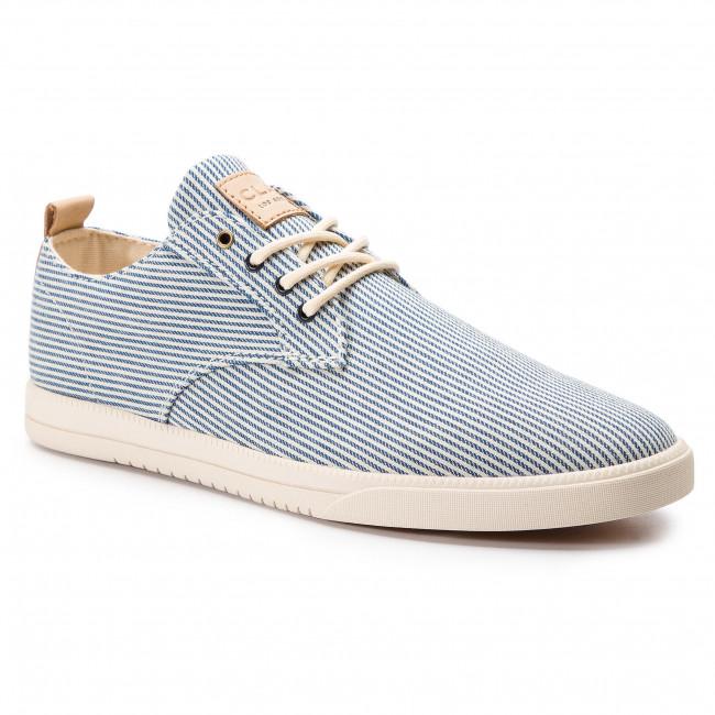 Shoes CLAE Ellington Textile CL19AET01 Navy White