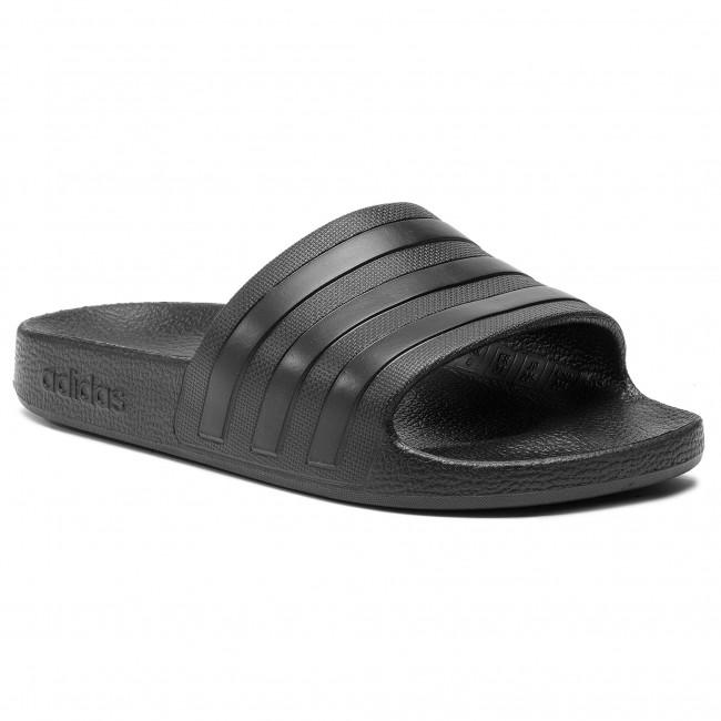 Slides adidas - adilette Aqua F35550 Cblack/Cblack/Cblack