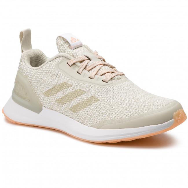 Shoes adidas RapidaRun X Knit J D97079 RawwhtCleoraFtwwht
