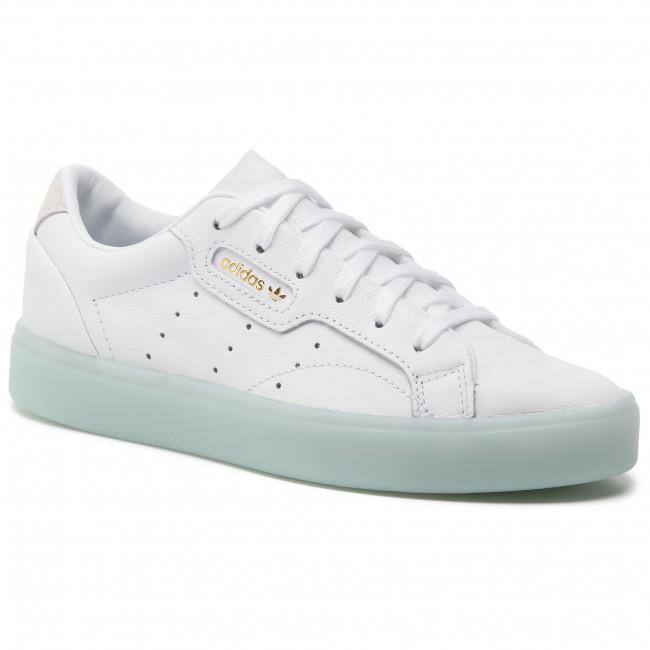 b3d95d84 Shoes adidas - Sleek W G27342 Ftwwht/Ftwwht/Icemin - Sneakers - Low shoes -  Women's shoes - efootwear.eu