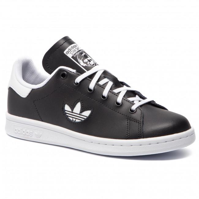 Efterstræbte Shoes adidas - Stan Smith J CG6669 Cblack/Ftwwht/Ftwwht - Sneakers NL-24