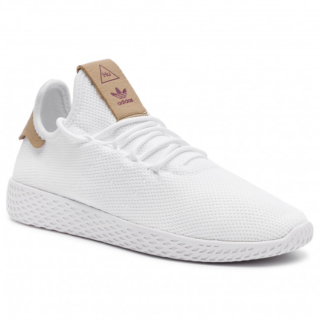 Fuera añadir Generalizar  Shoes adidas - Pw Tennis Hu W D96444 Ftwwht/Ftwwht/Rawsan - Sneakers - Low  shoes - Women's shoes | efootwear.eu