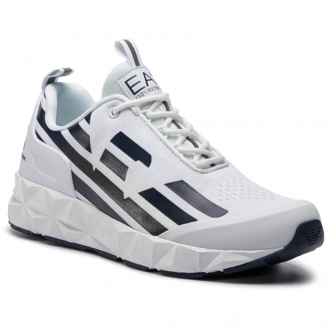 Sneakers Ea7 Emporio Armani X8x033 Xcc52 B139 White Navy Sneakers Low Shoes Women S Shoes Efootwear Eu