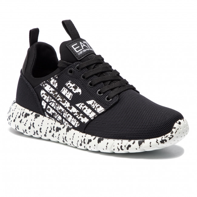 Sneakers EA7 EMPORIO ARMANI X8X007 XK073 A120 BlackWhite