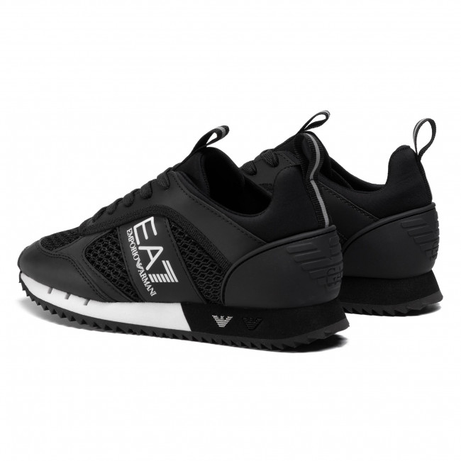 Trainers Ea7 Emporio Armani X8x027 Xk050 A120 Black White Sneakers Low Shoes Women S Shoes Efootwear Eu