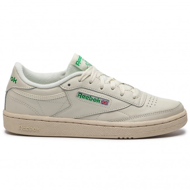 CLUB C 85 VINTAGE SOFT LEATHER SHOES Sneaker low chalkgreenwhitered