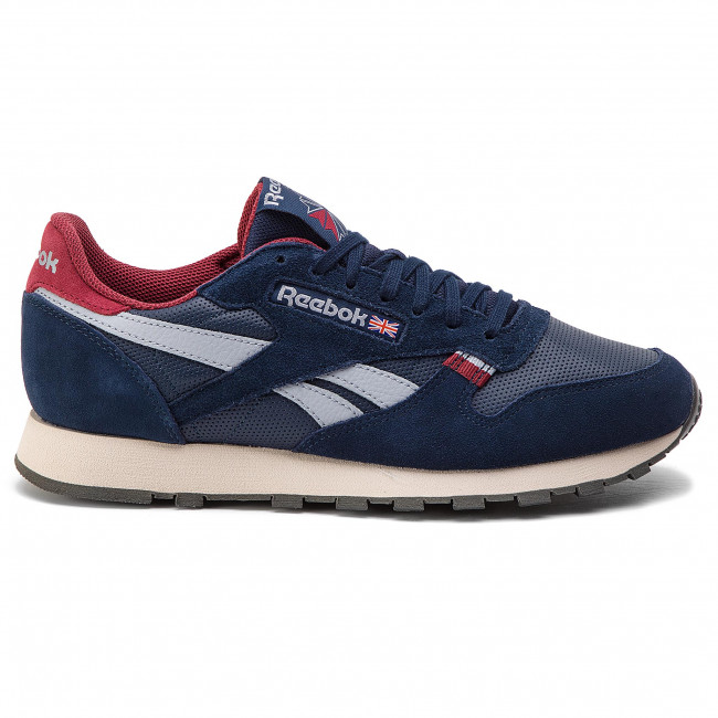 Shoes Reebok CL Leather Mu CN7178 NavyRedStuccoGrey