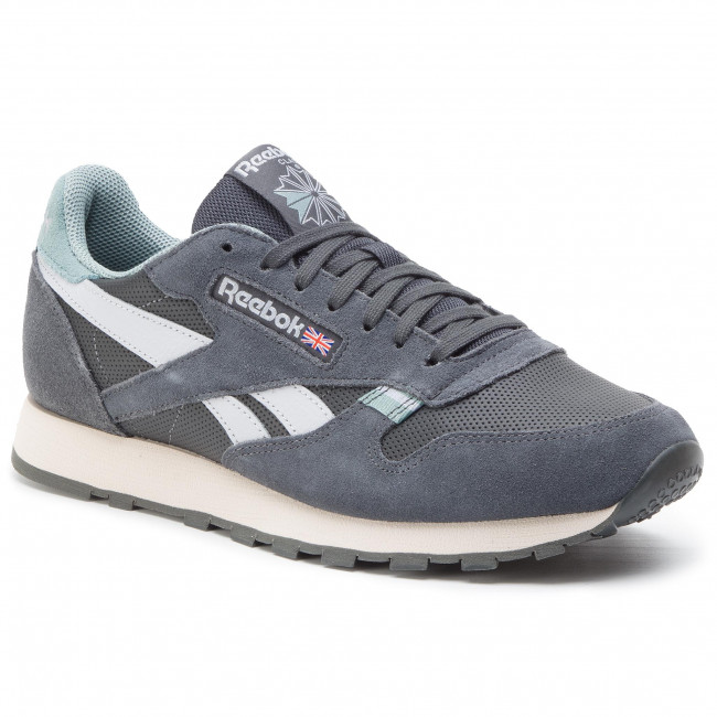 Shoes Reebok Cl Leather Mu CN7179 True GreyTeal FogStucco