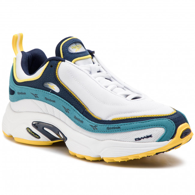 promo code 0937c 5f8e6 Shoes Reebok - Daytona Dmx Vector DV3890 White/Navy/Mist/Yellow