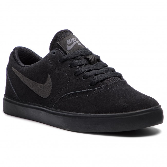 Piñón Mediana Hizo un contrato  Shoes NIKE - Sb Check Suede (GS) AR0132 001 Black/Black Anthracite ...