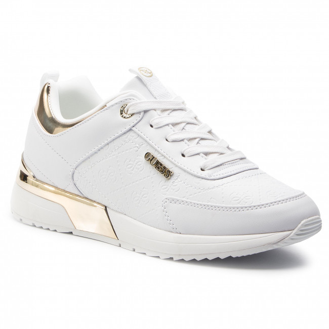 202c712f6d8 Sneakers GUESS - Marlyn FL5MRL FAL12 WHITE - Sneakers - Low shoes - Women's  shoes - efootwear.eu